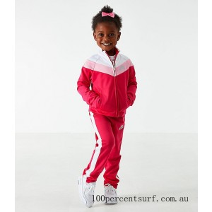 Black Friday 2021 Girls' Toddler Nike Tricot Track Jacket and Pants Set Rush Pink Clearance Sale