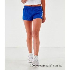 Black Friday 2021 Women's adidas Mono Athletic Shorts Mystery Blue Clearance Sale