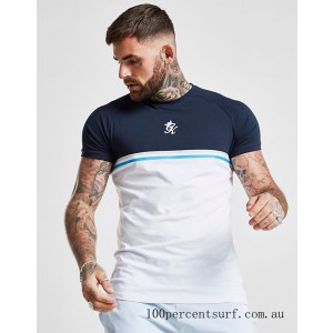 Men's Gym King Gilchrist T-Shirt White On Sale