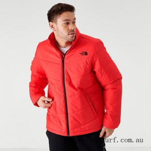 Men's The North Face Junction Insulated Jacket TNF Red On Sale
