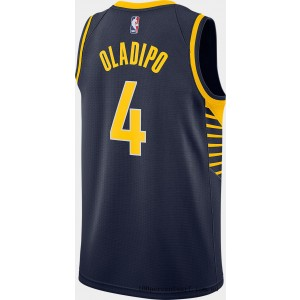 Men's Nike Indiana Pacers NBA Victor Oladipo Icon Edition Connected Jersey Navy On Sale