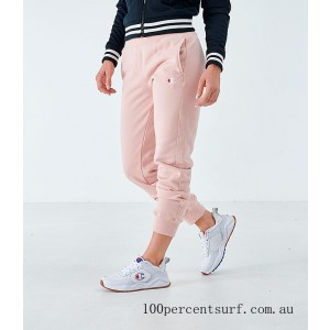 Black Friday 2021 Women's Champion Reverse Weave Small Logo Jogger Sweatpants Spiced Almond Clearance Sale