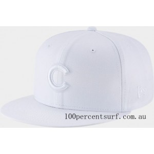 New Era Chicago Cubs MLB 9FIFTY Snapback Hat White On Sale
