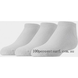 Black Friday 2021 Kids' Finish Line 3-Pack No Show Socks White Clearance Sale