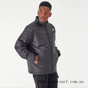 Black Friday 2021 Men's The North Face Junction Insulated Jacket TNF Black Clearance Sale