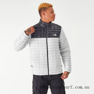 Men's The North Face Thermoball Eco Jacket TNF Grey/Black On Sale