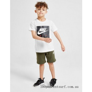 Boys' Toddler and Little Kids' Nike Franchise Shorts Cargo Green On Sale