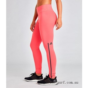 Women's adidas Z.N.E. Reversible Training Tights Prism Pink On Sale