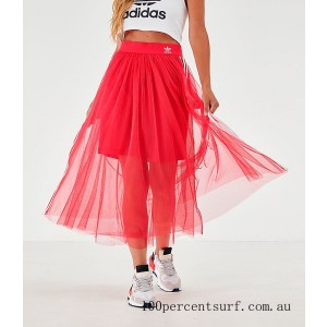 Women's adidas Originals Layered Tulle Skirt Energy Pink On Sale