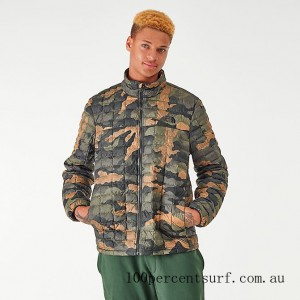 Men's The North Face Thermoball Eco Jacket Camo On Sale