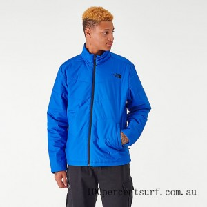 Men's The North Face Junction Insulated Jacket TNF Blue On Sale