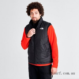 Men's The North Face Junction Insulated Vest Black On Sale