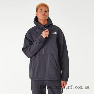 Men's The North Face Graphic Collection Half-Zip Hoodie TNF Black On Sale