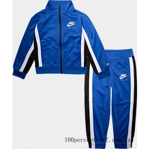 Boys' Toddler Nike Air Tricot Track Jacket and Pants Set Game Royal On Sale