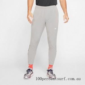 Men's Nike Essential Woven Jogger Pants Heather Grey On Sale