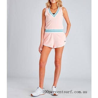 Women's Champion Life Terry Romper Primer Pink On Sale