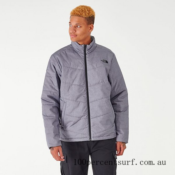 Black Friday 2021 Men's The North Face Junction Insulated Jacket TNF Medium Grey Clearance Sale