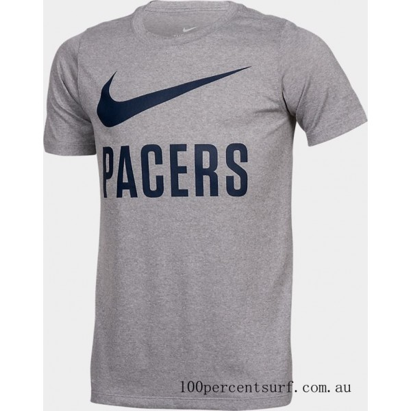 Boys' Nike Indiana Pacers NBA Swoosh T-Shirt Team Colors On Sale