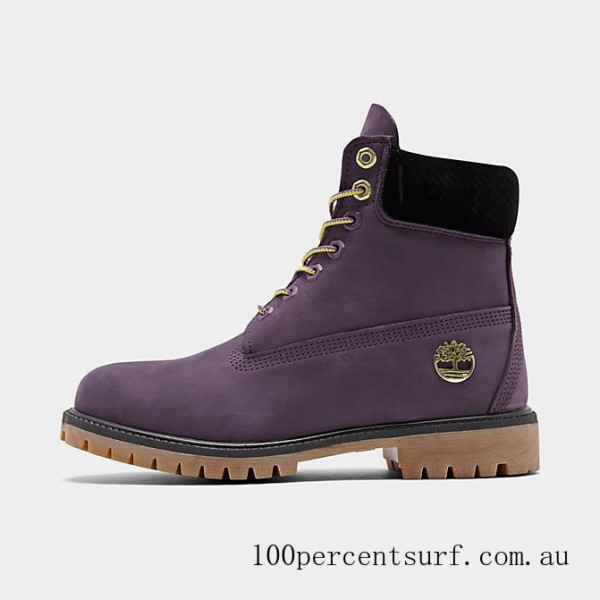 Men's Timberland x NBA Los Angeles Lakers 6 Inch Classic Boots Lakers On Sale
