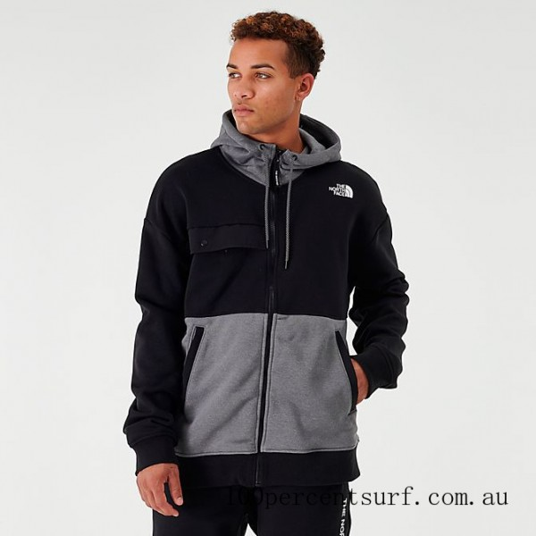 Men's The North Face Graphic Collection Full-Zip Hoodie TNF Grey/Heather On Sale