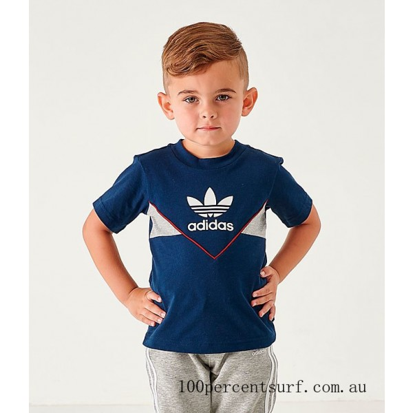 Infant and Toddler Kids' adidas Originals Colorado T-Shirt Navy On Sale